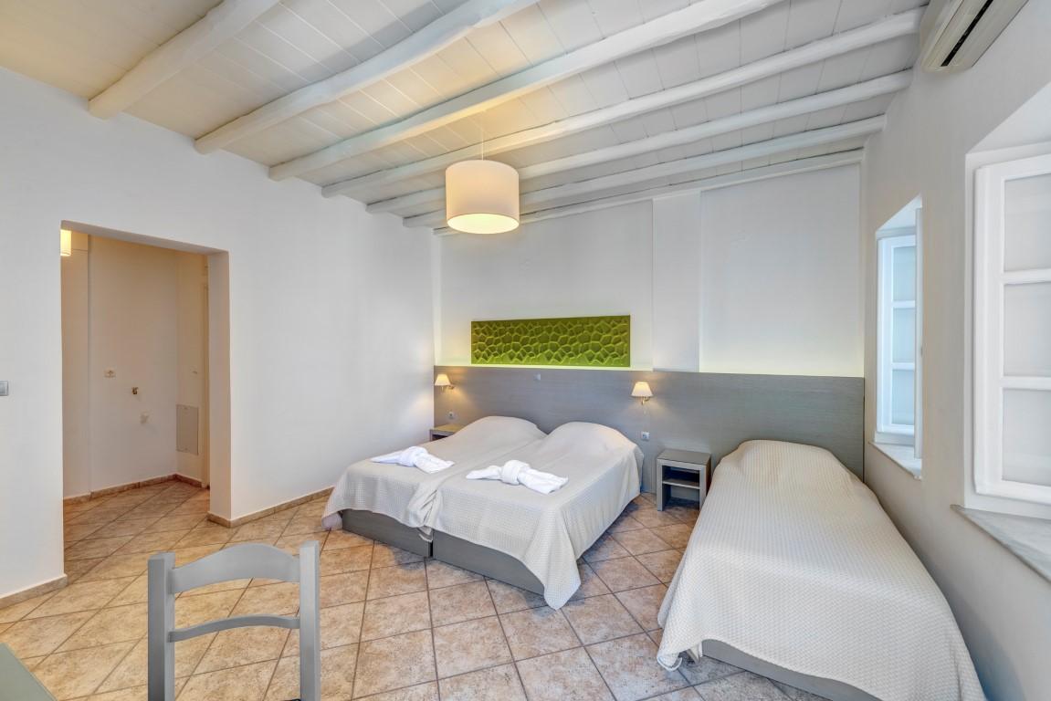 Διαμέρισμα με βεράντα.